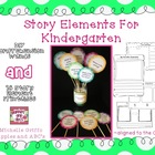 Story Elements for Kindergarten: Printables and Comprehens