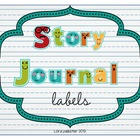 Story Journal Labels