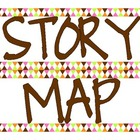 Story Mapping Headings for anchor charts or bulletin board