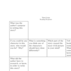 Story Response Cube