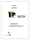 Story Starters with Vocabulary Accommodations