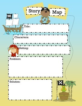 Story Treasure Map
