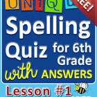 StoryTown Grade 6 – Unique Spelling Quizzes w/ Answers – L