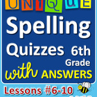 StoryTown Grade 6 – Unique Spelling Quizzes with Answers –