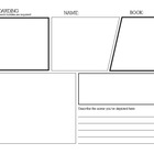 Storyboarding and Comic Drawing Template