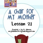 Storytown Grade 2 Lesson 21:A Chair for My Mother Supplementals