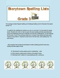 Storytown Spelling Lists for Third Grade (Regular and Chal