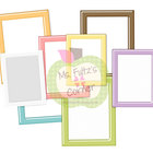 Digital Straight Frames: Shiny Pastel