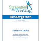 Strategies For Writing - Kindergarten Writing program- Com