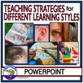 Strategies for Teaching Different Learning Styles PowerPoint