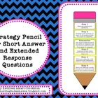 Strategy Pencil Poster for Short Answer and Extended Respo