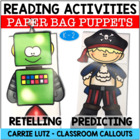 Strategy Puppets for Reading Comprehension K - 2