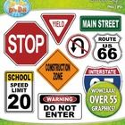 Street Signs Clipart — Includes Blank Signs To Make Your Own!