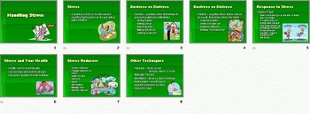 Stress Smartboard Notebook Presentation Lesson Plan