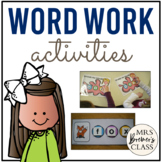 Stretch the Words Pack {CVC, CCVC, CVCC Word Work}