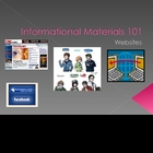 Structure  Informational Materials: Websites