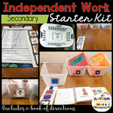 Structured Work System Starter Kit for Autism--Secondary Version
