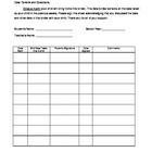 Student Assessment Data Binder
