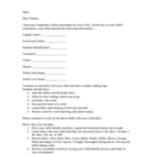 Student Assessment Parent  Letter