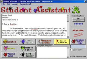 Student Assistant  (Writing Software for Windows PC)