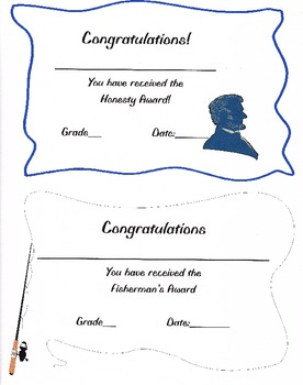 Student Award Certificates or Templates