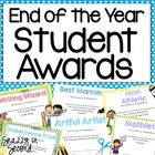 Student Awards for End of the Year