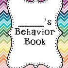 Student Behavior Book