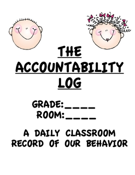 Student Behavior/Accountability Cover/Pages