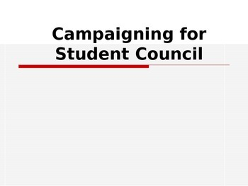 Student Council Campaigning Tips