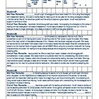 Student Data Analysis Information Sheet (Narratives) for C