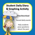 Student Daily Diary & Graphing Activity Free Download