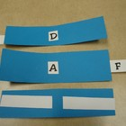 Student Engagement/Test Prep ABCDEFT slide cards
