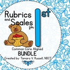 Student Friendly Scale & Rubric for First Grade (Common Co