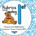 Student Friendly Scale &amp; Rubric for First Grade Mathematic
