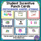 Student Incentive Punch Cards