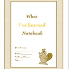 Student Learning Notebook/ Binder