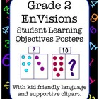 Student Learning Objectives Posters to match EnVisions Gra