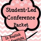 Student Led Conference Packet in English and Spanish