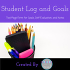 Student Log and Goals
