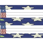 Student Name Tag Deskplate Patriotic Theme