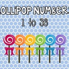 Student Number Lables {Lollipop Theme}