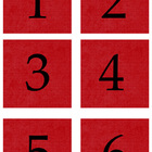 Student Number Magnets - *** ALL 5 COLORS!! ***