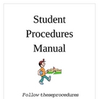 Student Procedures Manual