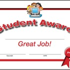 Student Recordable Awards (5 pack)