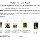 Student Timeline Project