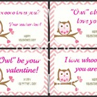 Student Valentine's Day Cards: Print, Sign, Give!
