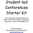 Student-led Conferences Starter Kit with Printables