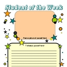 Student of the Week Poster Set