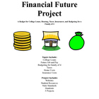 Students Financial Future: Budget, Taxes, Loans, College, Job