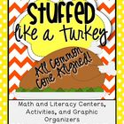 Stuffed Like a Turkey Thanksgiving Pack {Graphic Organizer